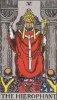 tarot a főpap