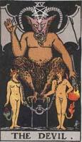 tarot az ördög